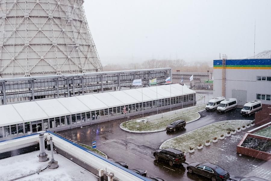Торжественное открытие Челябинской ГРЭС