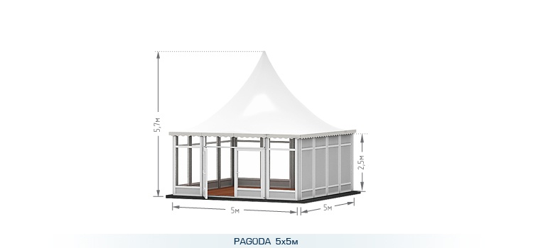 Шатер Pagoda (Пагода)