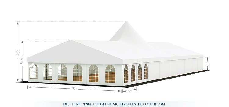 Шатер Big tent