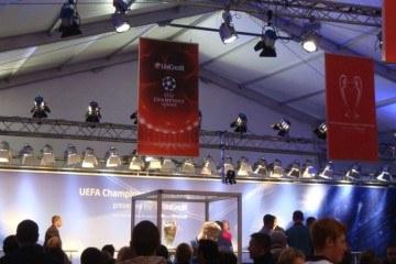 Турне Кубка Лиги Чемпионов УЕФА - шатры А-Тент