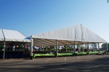 Корпоративное мероприятие - шатры А-Тент
