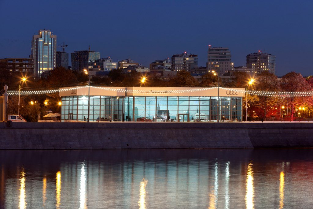 Проект компании Audi – «Москва. Арена quattro®»