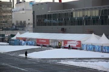 Кубок Первого Канала по Хоккею 2015 - шатры А-Тент