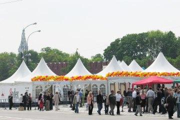 Международный фестиваль чая и кофе - шатры А-Тент