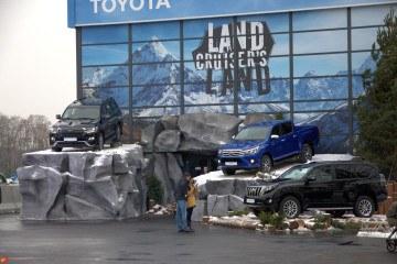 TOYOTA - LAND CRUISER`S LAND* - шатры А-Тент