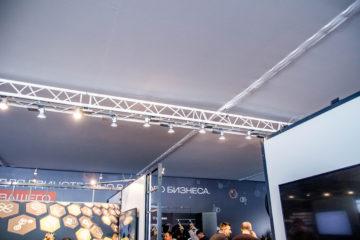 Презентация и тест-драйв новых моделей грузовых автомобилей Scania. - шатры А-Тент