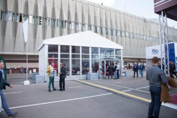 Выставка Металлообработка 2017 - шатры А-Тент