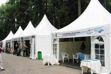 Чемпионат России по гольфу - шатры А-Тент