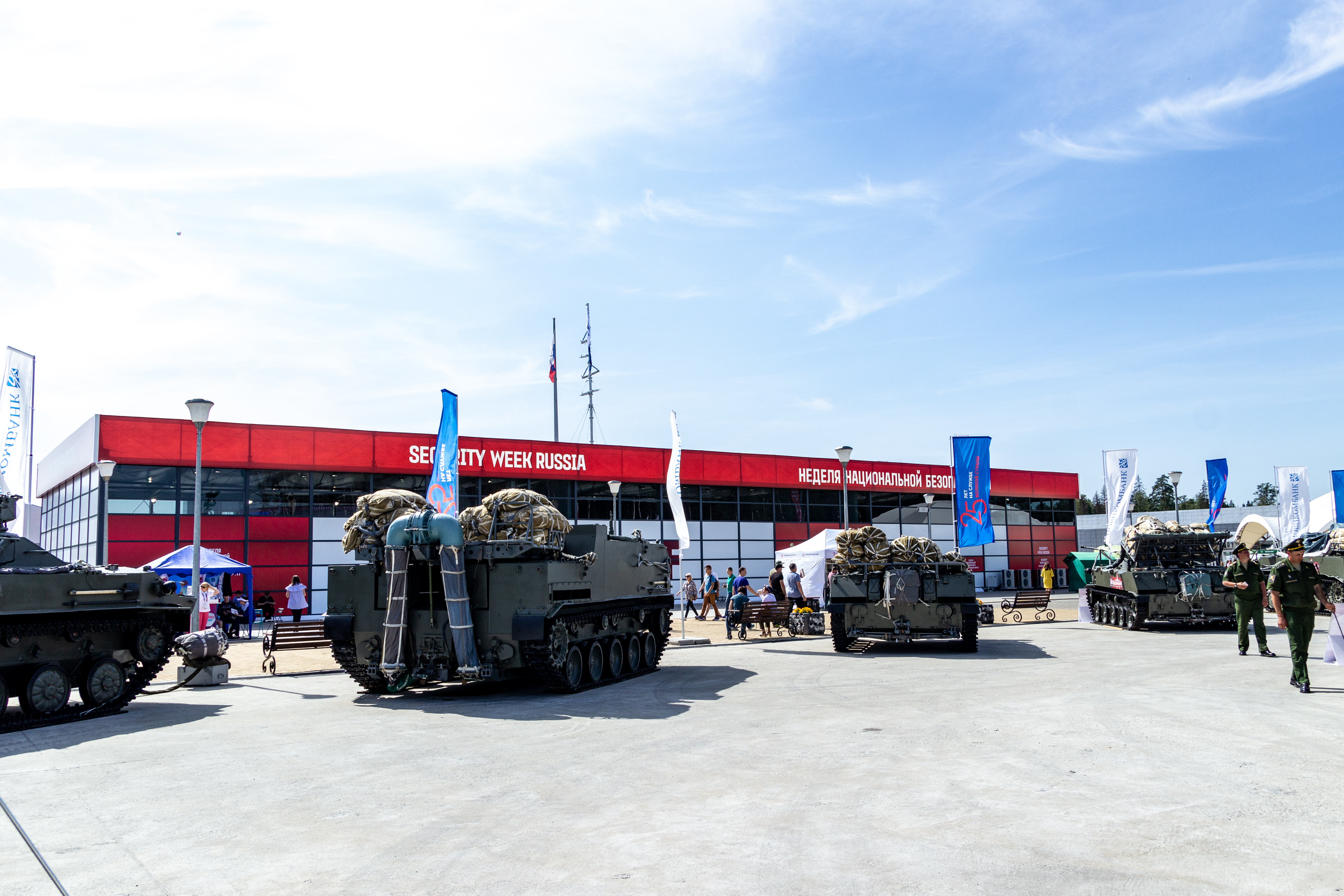 Временная инфраструктура для Международного военно-технического форума Армия 2018