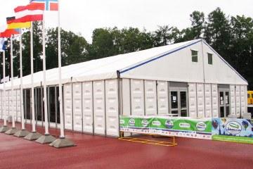 Кубок мира по воздухоплаванию - шатры А-Тент