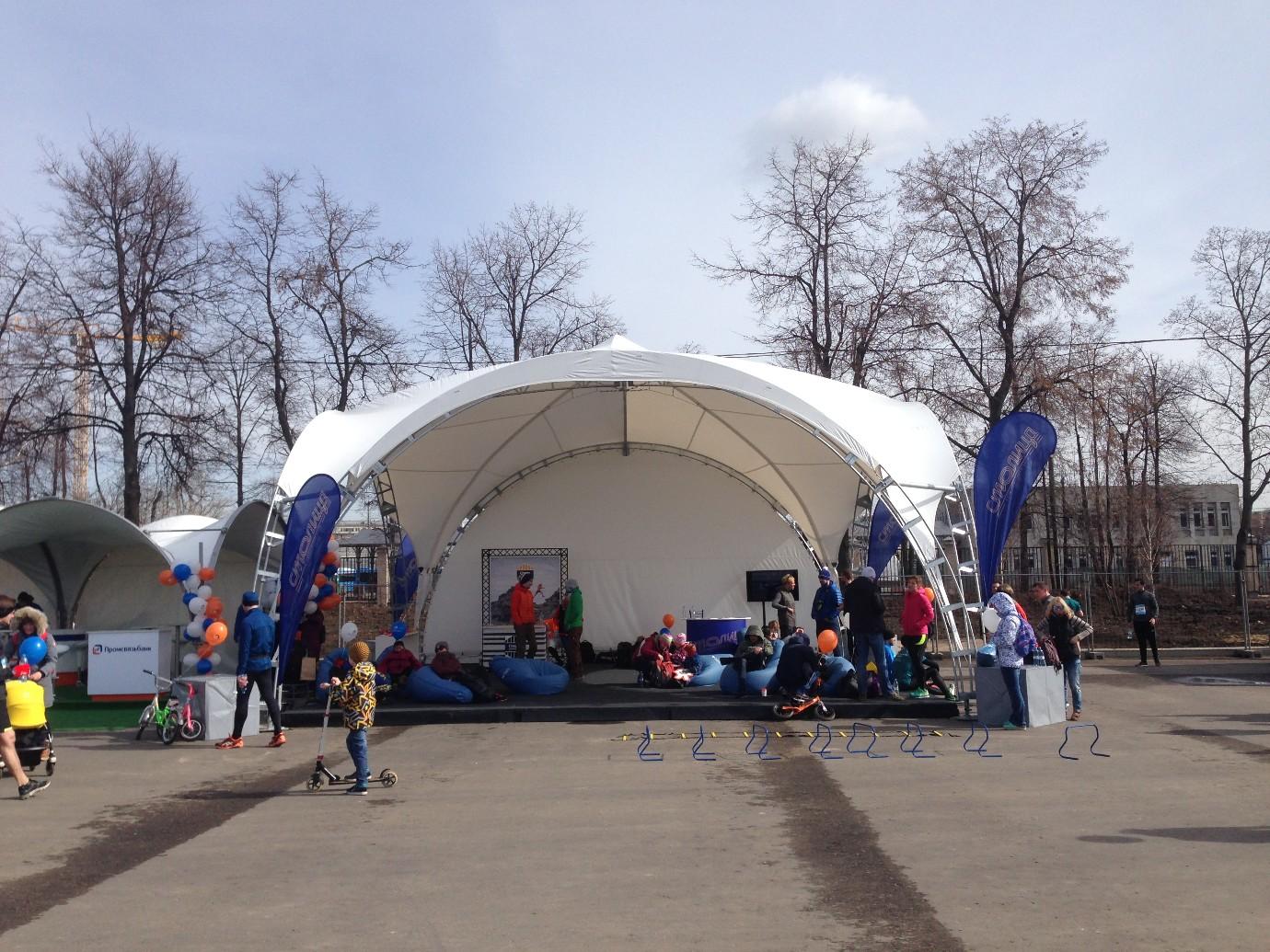 Арочные шатры от «А-ТЕНТ»