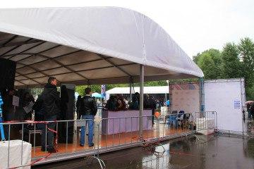 XXV Всероссийский олимпийский день - шатры А-Тент