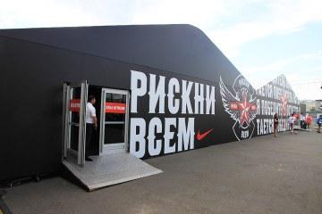 Турнир Nike Football - «Победитель остается» - шатры А-Тент