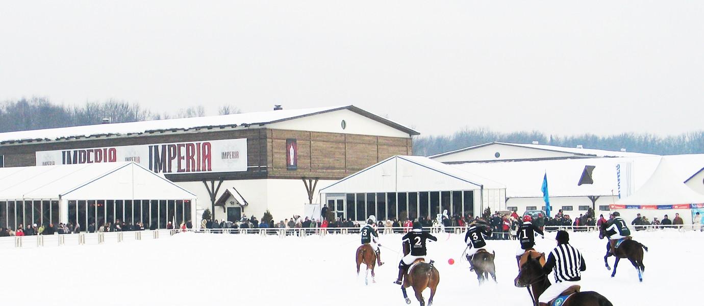 Зимний поло-турнир