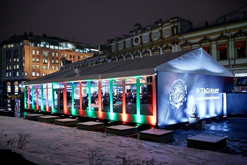 Церемония открытия первого флагманского бутика TAG Heuer