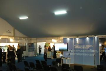 Мурманский международный экономический форум - шатры А-Тент