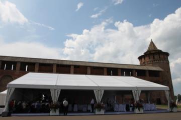 Заседание Высшего совета при губернаторе Московской области - шатры А-Тент