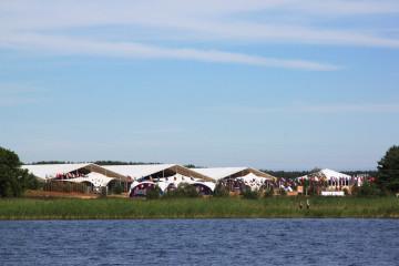 Форум «Селигер-2012» - шатры А-Тент