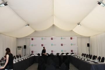 Заседание Совета при мэре Москвы - шатры А-Тент