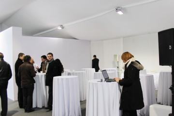 Презентация скоростного трамвая - депо им. Н. Э. Баумана - шатры А-Тент