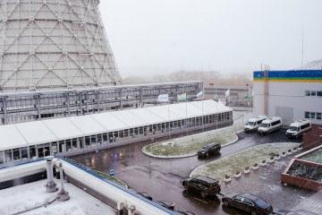 Торжественный пуск Челябинской ГРЭС - шатры А-Тент