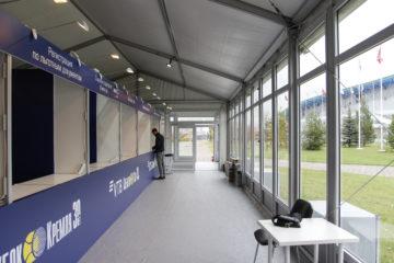 Инфраструктура для 30-го Юбилейного теннисного турнира