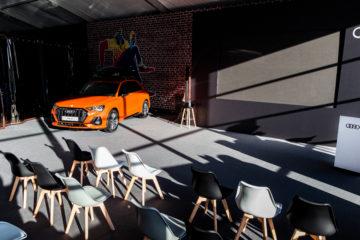 Тренинг-центр по продажам новой Audi Q3 - шатры А-Тент