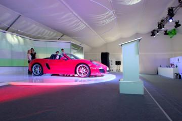 Презентация исторических гоночных автомобилей