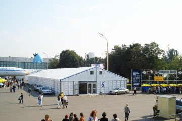 Выставка книг на ВВЦ - шатры А-Тент