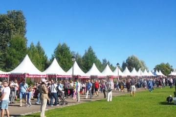 «Русское поле» - Фестиваль славянского искусства - шатры А-Тент