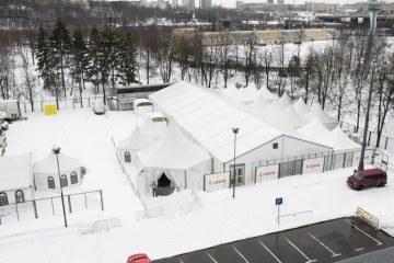 Чемпионат мира по фигурному катанию - шатры А-Тент