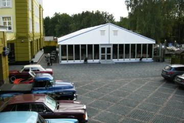 Музей техники Вадима Задорожного - шатры А-Тент