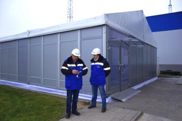 «Газпром», Череповецкая ГРЭС - шатры А-Тент