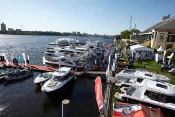 Moscow Yacht Show 2019 - шатры А-Тент