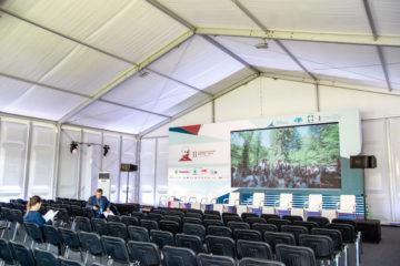 II Столыпинский форум, МГИМО - шатры А-Тент