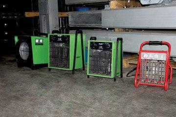 Электрические обогреватели 5-18 кВт
