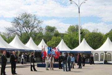 «День Европы в Москве. 60 лет мира» - шатры А-Тент