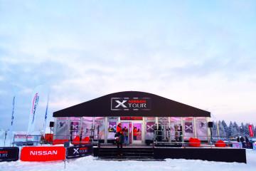 NISSAN X-TOUR - шатры А-Тент