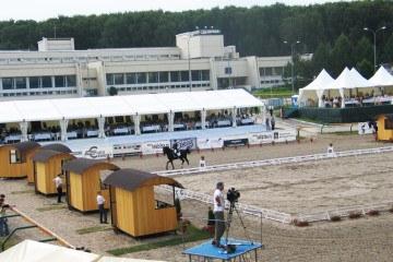 Кубок Мэра по конкуру - шатры А-Тент