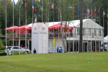 XIV Открытый Чемпионат России по гольфу - шатры А-Тент