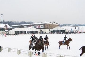 Зимний поло-турнир - шатры А-Тент