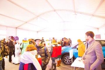Городской фестиваль «Формула Студент» - шатры А-Тент