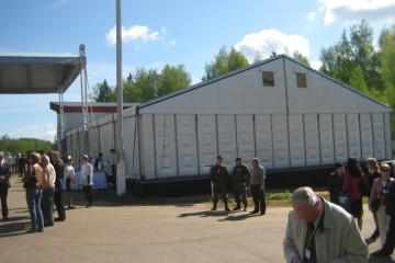 95-летие ФГУП «ГНПП «Базальт» - шатры А-Тент