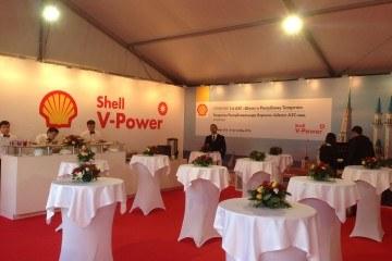 Открытие заправки SHELL - шатры А-Тент