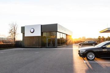 Презентация BMW в гольф-клубе Сколково - шатры А-Тент