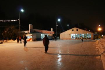 Московские катки - шатры А-Тент