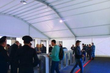 Московский международный автомобильный салон – 2014 - шатры А-Тент