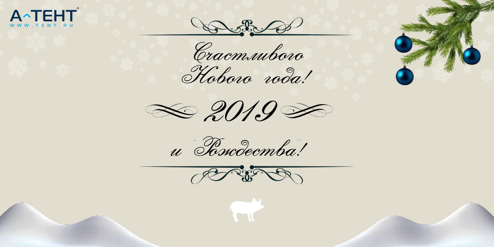 C Новым, 2019, годом!