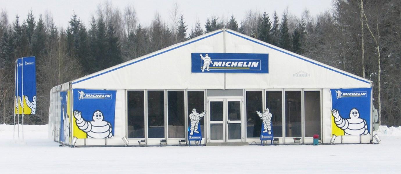 "Тест-драйв резины ""Michelin"""