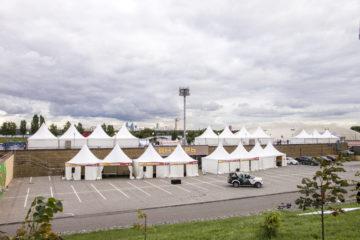 Фотогалерея тентов для спортивных мероприятий от А-Тент